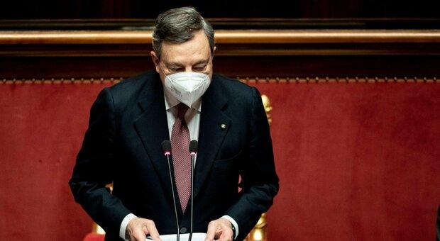 Draghi, il discorso integrale al Senato (tra riforme e citazioni di Cavour e Papa Francesco)
