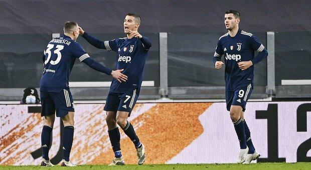 Juventus, terza vittoria di fila, ma il 3-1 contro il Sassuolo è costato molta fatica