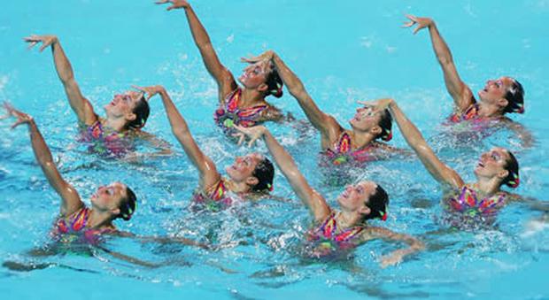 Nuoto sincronizzato, che passione: a Roma è boom di iscrizioni ai corsi
