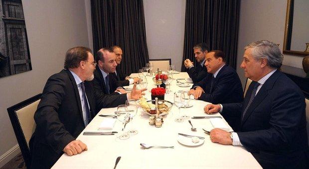 Il presidente degli eurodeputati popolari: «Il leader è Berlusconi sulla Ue garantisce lui»