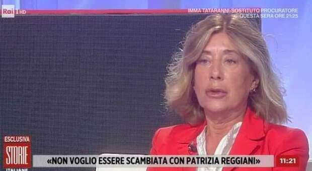 Patrizia Gucci, lo sfogo a Storie italiane: «Sono stufa, non scambiatemi più con la Reggiani»