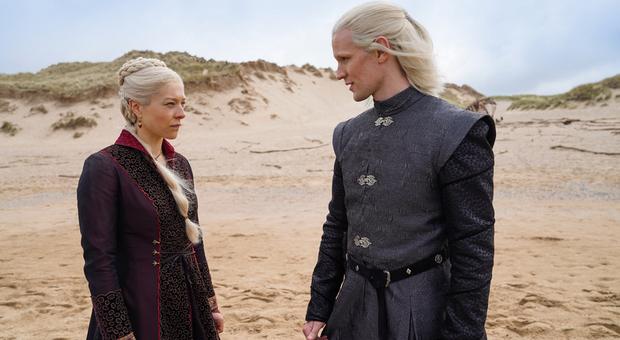 House of Dragons, ecco le prime immagini del prequel de Il Trono di Spade