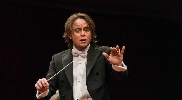 Il direttore d'orchestra Michele Mariotti al Festival MiTo