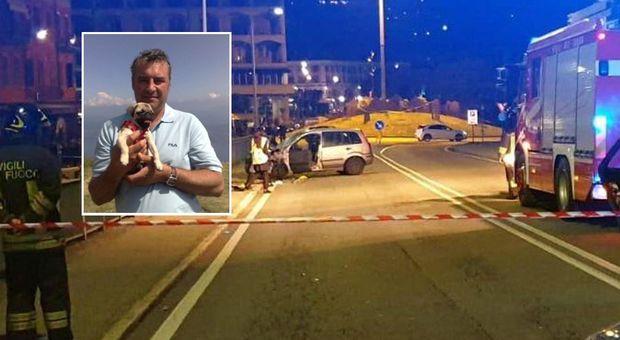 Famiglia travolta da un'auto a Verbania: un morto, ferito bimbo di 20 mesi