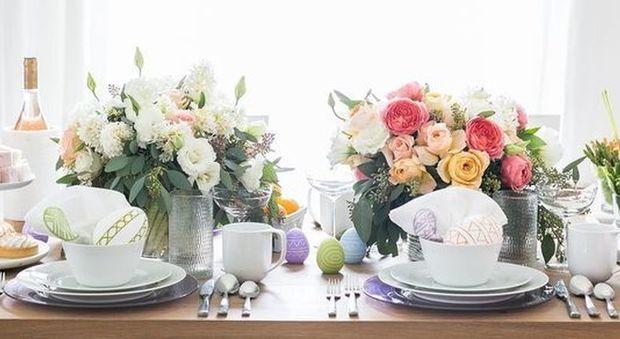 Decorazioni Pasquali Da Tavola : Pasqua ecco come decorare la tavola