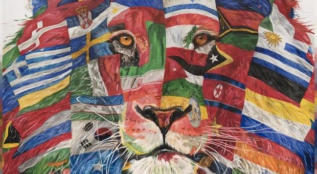 """Leoni, porcospini, cavalli e koala: gli animali """"umanizzati"""" di Carla Chiusano al nostro Istituto di Cultura a Bruxelles"""