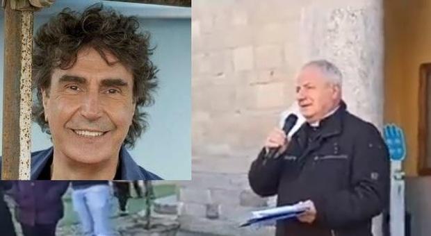«La Messa è finita, ascoltiamo i Pooh»: omaggio di Albegno a Stefano D'Orazio, la musica della band dal campanile della chiesa