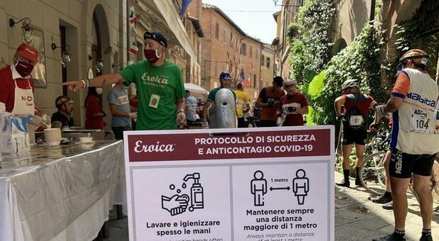 Eroica 2020, a Montalcino la ciclostorica vince la sfida della ripartenza