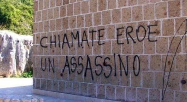 Monumento comunale al gerarca fascista, chiesti 2 anni e mezzo di carcere per sindaco di Affile