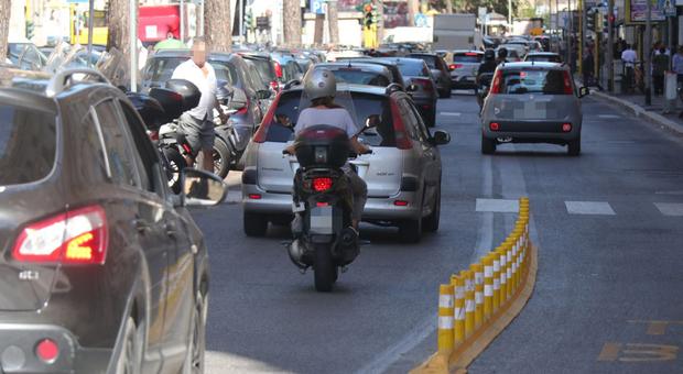 Roma, in arrivo nuove corsie preferenziali protette