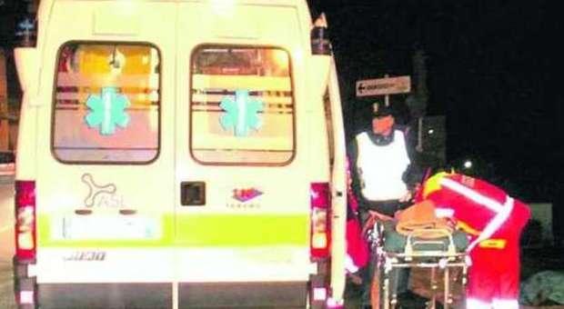 Incidenti stradali a Teramo: ubriaco al volante si ribalta, è grave