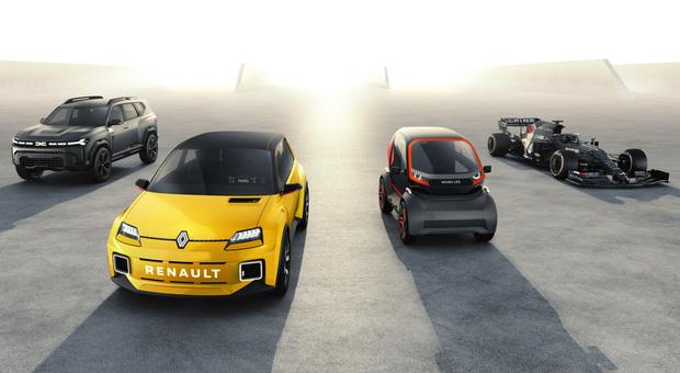Le nuove Renault svelate durante la presentazione del piano quinquennale