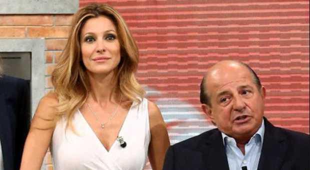 Giancarlo Magalli punge ancora Adriana Volpe: «0,9% di share, farebbe meglio a star zitta»