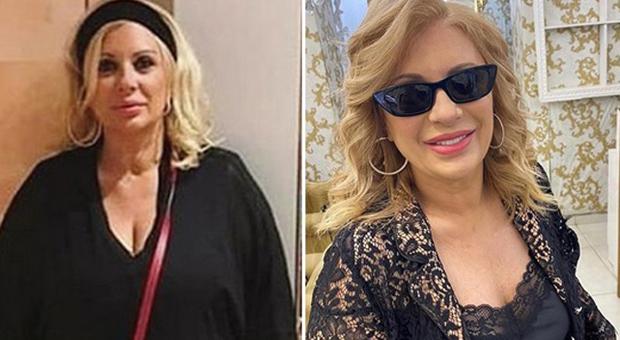 Tina Cipollari prima e dopo la dieta (Instagram)