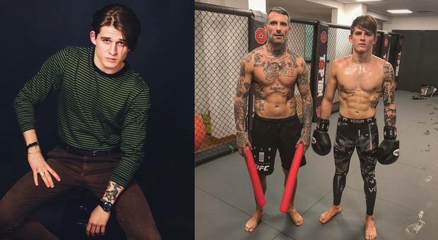 """Netflix, dalla """"gabbia"""" delle MMA al set di Curon: ecco il romano Giulio Brizzi"""