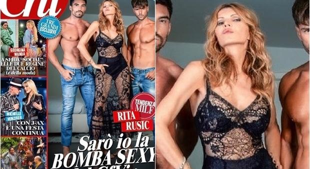 Rita Rusic al Grande Fratello Vip: «Sarò io la bomba sexy...»