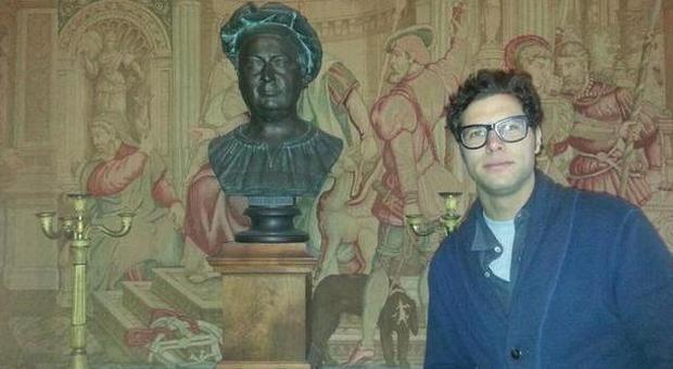 Fabrizio Monaldi uno dei proprietari della villa