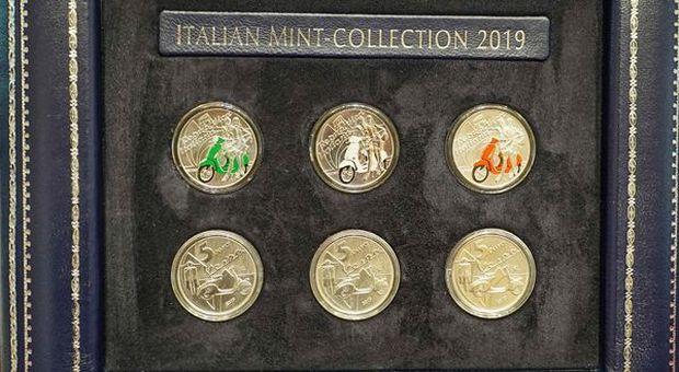 bbb408dbb6 La Vespa di Piaggio simbolo dell'Italia nella nuova speciale collezione  Numismatica
