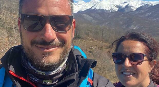 Riccardo e Miriam in cammino da più di 800 chilometri approdano a Leonessa e poi a Poggio Bustone
