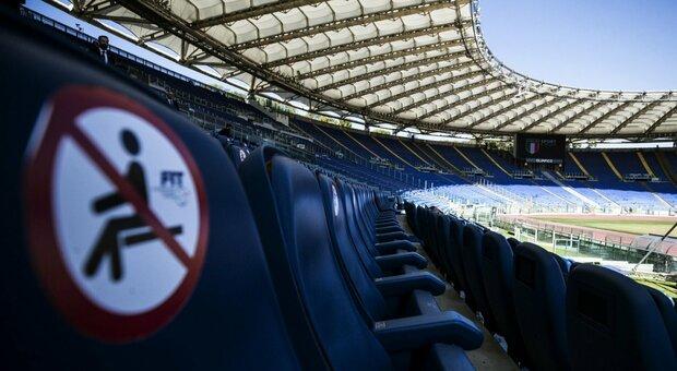 Serie A, mille spettatori all'Olimpico per Roma-Juve e Lazio-Inter:  Zingaretti firma l'ordinanza