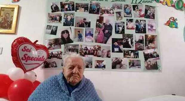 Enna, Marietta compie 112 anni: l'ultracentenaria siciliana è la nonna d'Italia