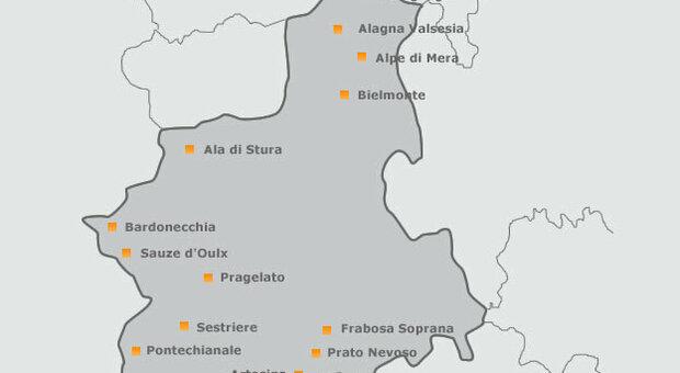 Piemonte, la regione ai piedi delle Alpi