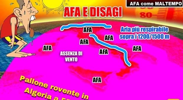 Meteo, arriva il grande caldo: afa e disagi in arriva in tutta l'Italia Previsioni