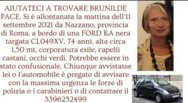 Ritrovato nel Tevere, il corpo senza vita della maestra Brunilde Pace. Era scomparsa l'11 settembre