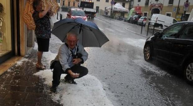 brand new bb01e 4845c Venezia, grandine e allagamenti: strade bloccate e danni ...