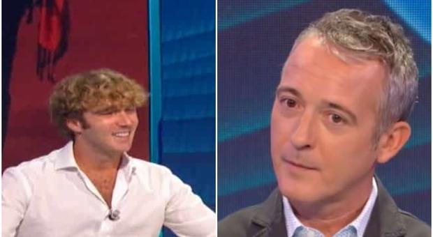 Io e Te, Pierluigi Diaco ospita Paolo Ciavarro: «Gf Vip e Clizia? Non me ne importa nulla»