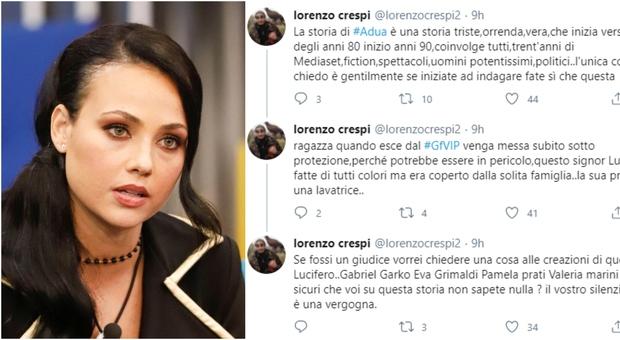 Adua Del Vesco, rivelazioni choc del collega: «È tutto vero. Lei è in pericolo, va messa sotto protezione»