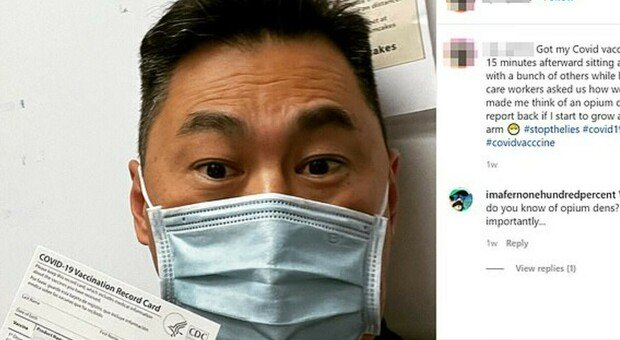 Vaccino, l'infermiere americano: «Otto giorni dopo la dose sono risultato positivo al Covid»