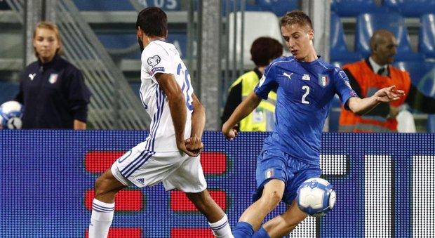 Milan, lieve distorsione: Conti salta la sfida con la Lazio