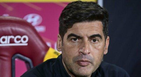Roma, Fonseca: «La squadra ha incosciamente staccato la spina per l'Europa League»