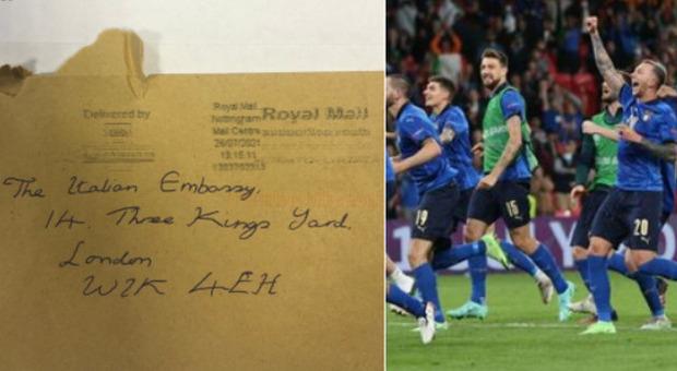 Italia-Inghilterra, la folle lettera piena d'insulti all'ambasciata italiana a Londra