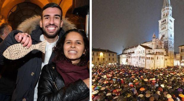 Sardine, chi sono gli ideatori del movimento simbolo della protesta anti-Salvini
