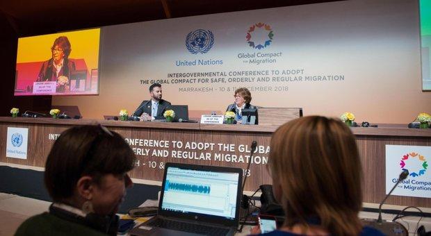 Migranti, conferenza Onu di Marrakech adotta il Global Compact