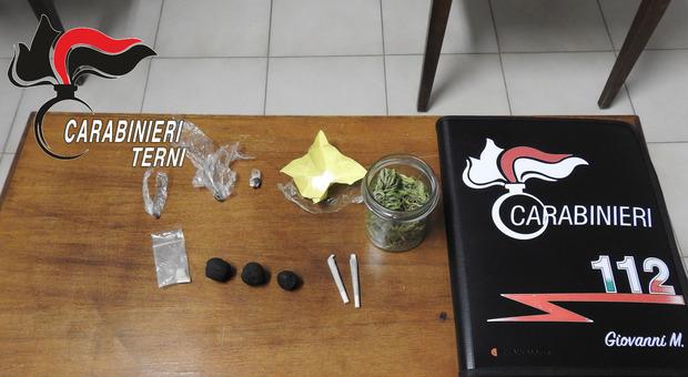 Orvieto, spaccio di droga nei guai due orvietani