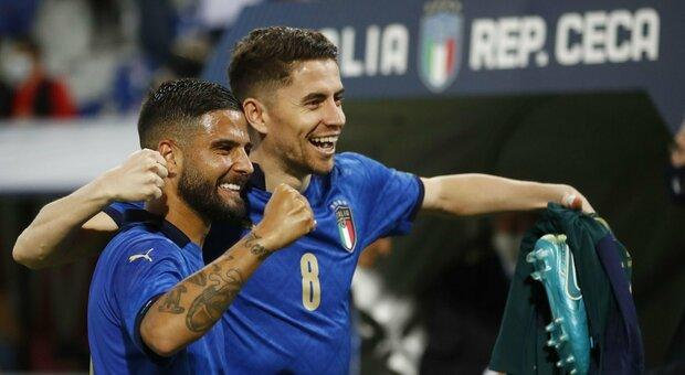 Mancini: «Un buon inizio». Insigne: «Pronti per l'Europeo»