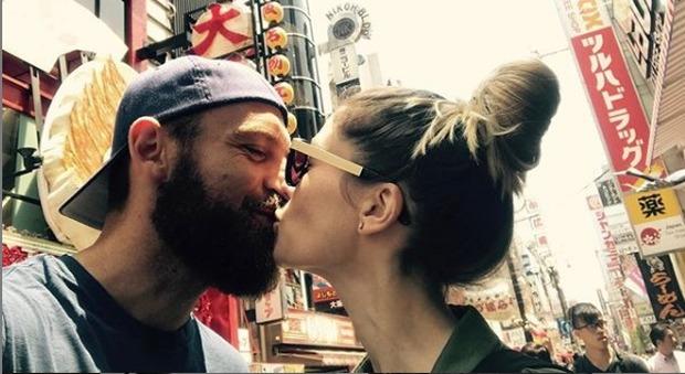 De Rossi, il messaggio d'amore della moglie Sarah Felberbaum