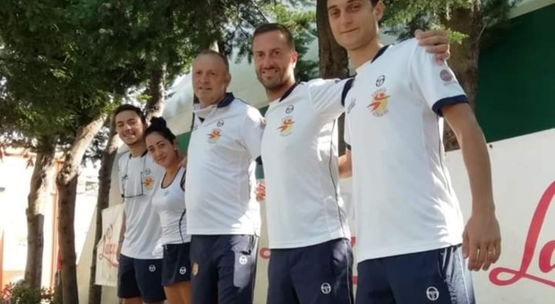 Il team del Tennis Chieti