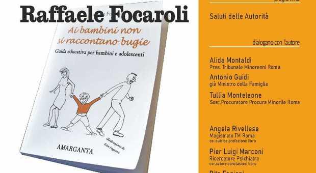 Rieti, la tutela minorile spiegatadal reatino Raffaele FocaroliPresente l'ex ministro Guidi - Il Messaggero
