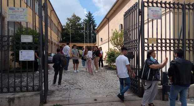 Maturandi al Liceo Jucci (foto Meloccaro)