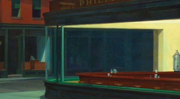 Hopper senza i suoi nottambuli. E' #artepidemia, la campagna virale del pubblicitario Riccardo Pirrone