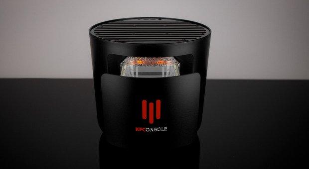 Kfc lancia la sua prima console per il gaming con fornetto integrato per scaldare le alette di pollo