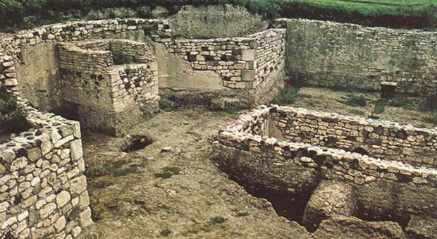 Il sito archeologico di Vulci