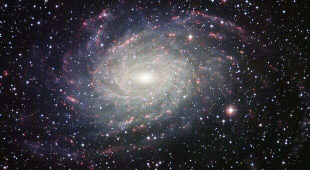 La galassia NGC 6744 a 30 milioni di anni luce dalla Terra e inquadrata dalla Wide Filed Imager del telescopio da 2.2 metri dell MPG a La Silla in Cile
