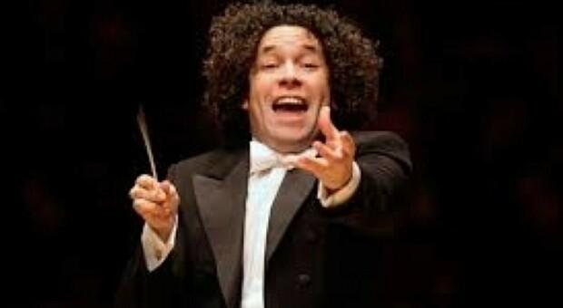Il direttore d'orchestra venezuelano Gustavo Dudamel