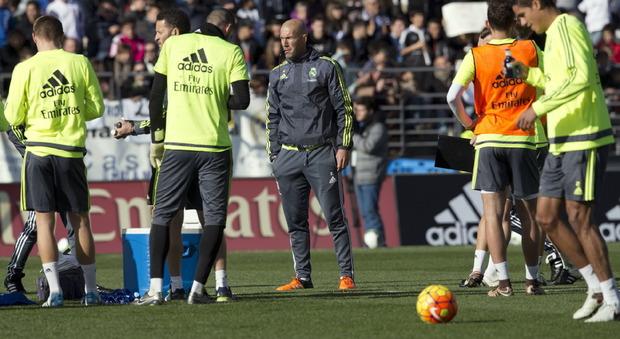 Allenamento calcio Real Madrid prima
