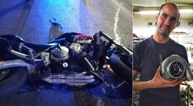Pescara, Luca Vignetti muore in moto: la ragazza è in coma